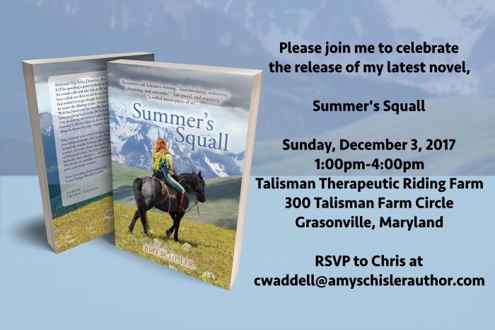 Summers Squall Invitation