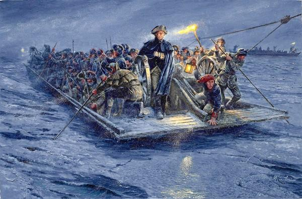 111208-Washington_crossing_the_Delaware-painting-AP111208150487
