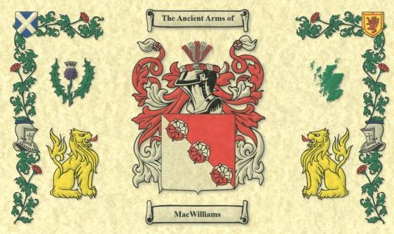 MacWilliams Clan Crest